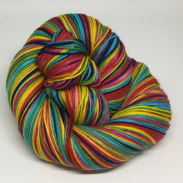 Psychic Six Stripe Self Striping Yarn