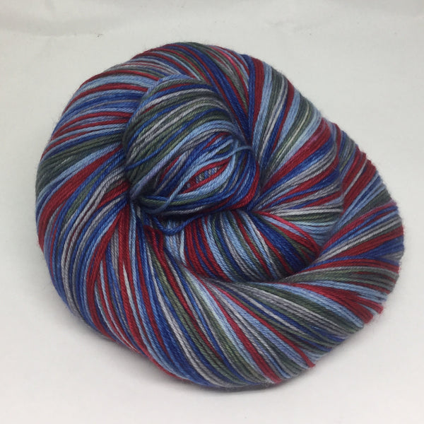 Carnival Row Five Stripe Self Striping Yarn