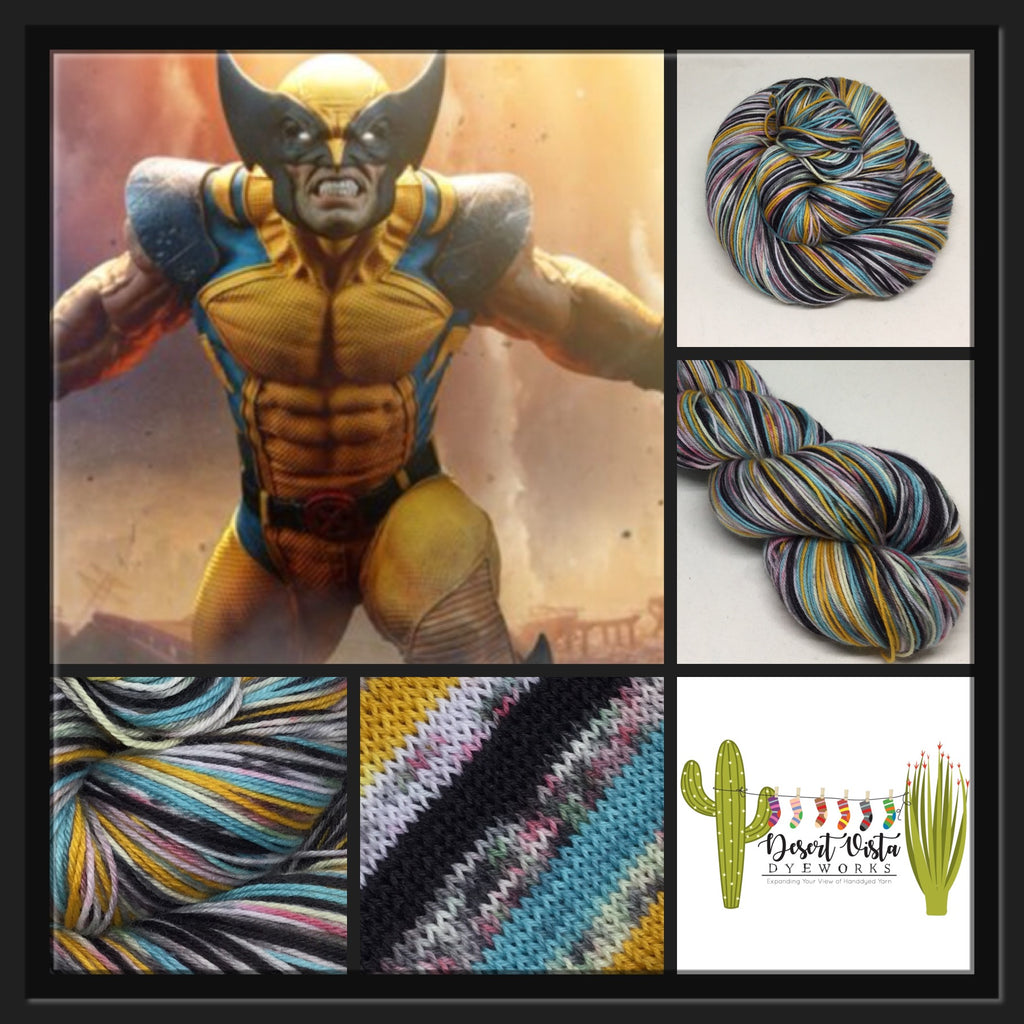 ZomBody Wolverine Six Stripe Self Striping Yarn