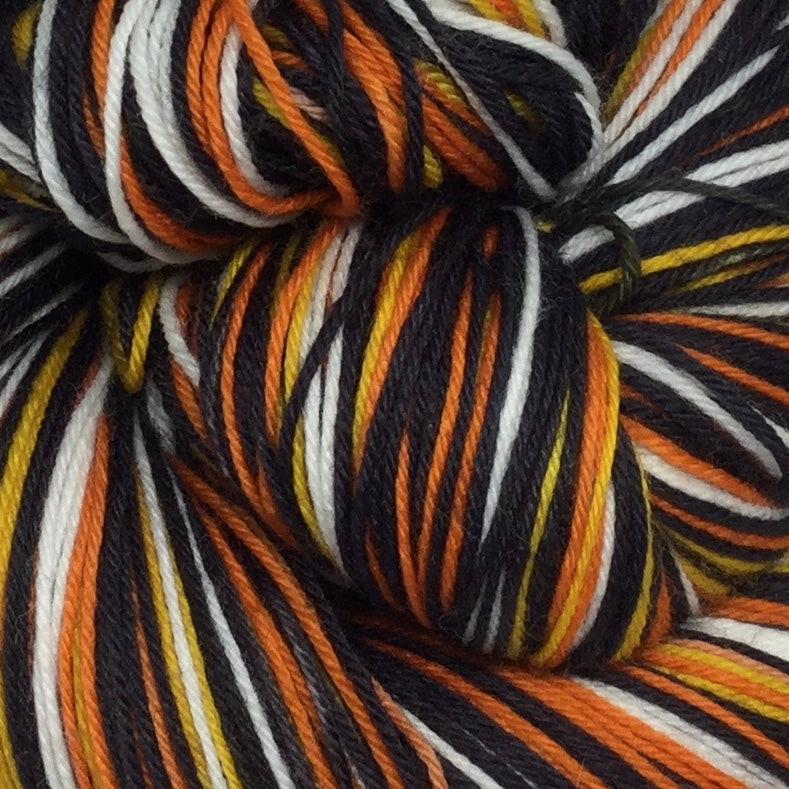 Monarch Six Stripe Self Striping Sock Yarn