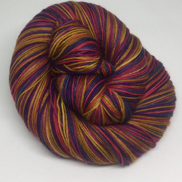 French Toast Six Stripe Self Striping Yarn