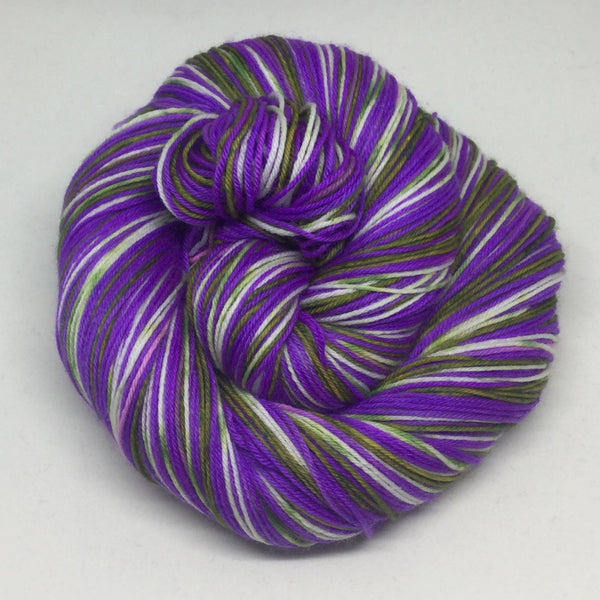 Witches Brew Frap Four Stripe Self Striping Yarn