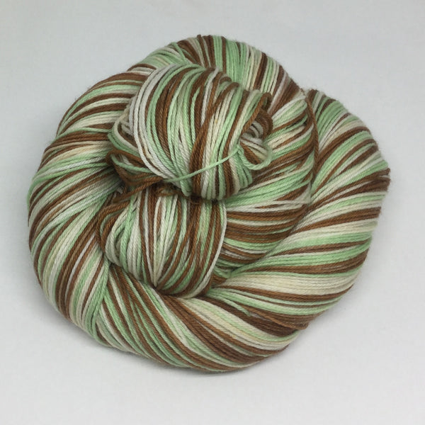 Peppermint Slice Three Stripe Self Striping Yarn
