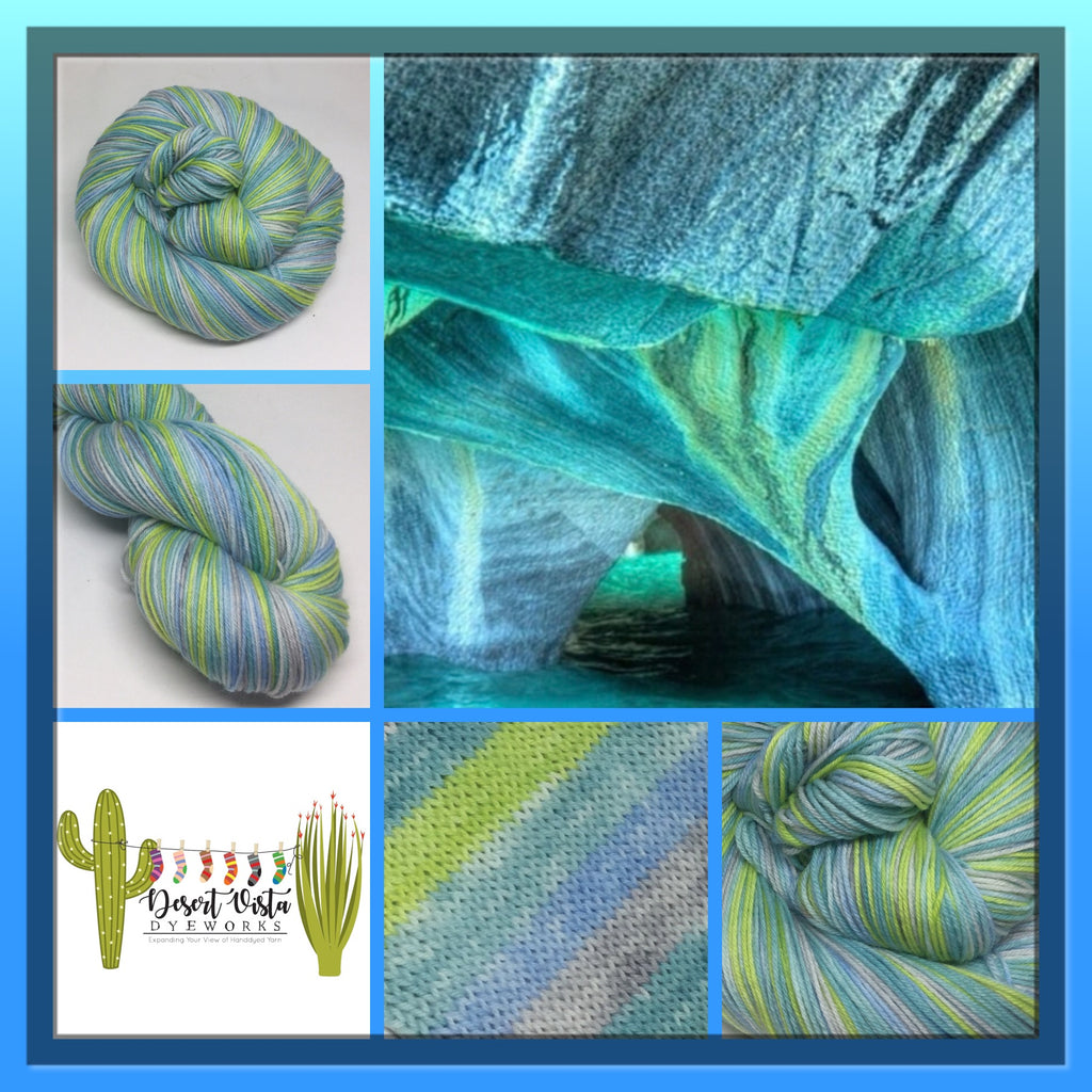 Carrera Lake Five Stripe Self Striping Yarn