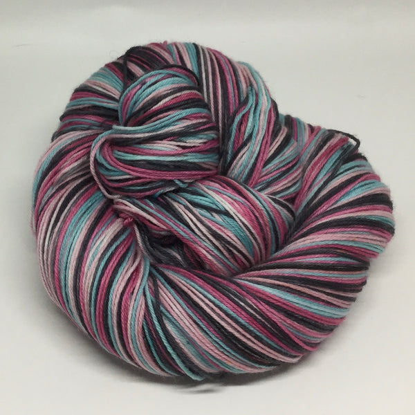 Happy Girlfriend's Four Stripe Self Striping Yarn