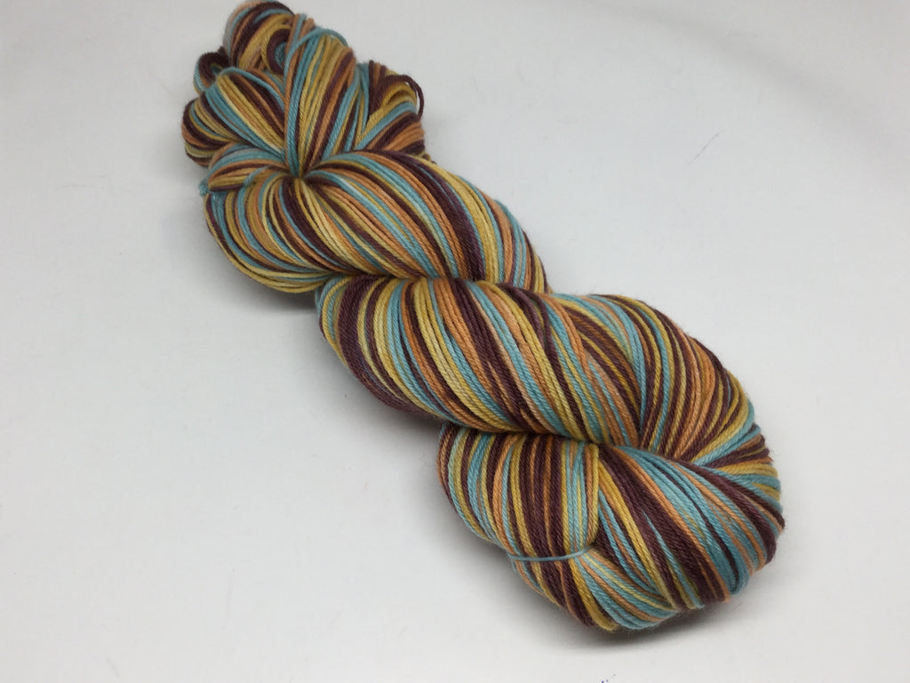 Peace and Love Four Stripe Self Striping Yarn