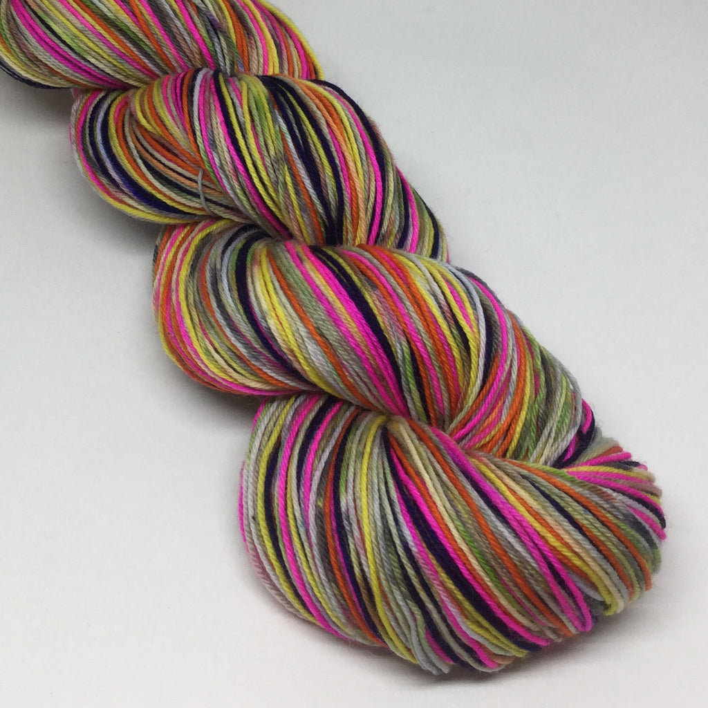The Mother of All ZomBody Queens Eight Stripe Self Striping Yarn
