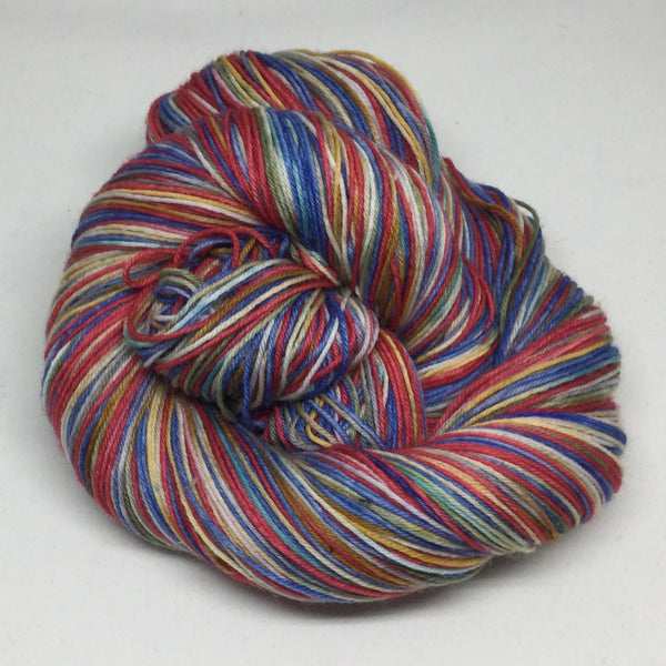 Renoir's Two Sisters Four Stripe Self Striping Yarn