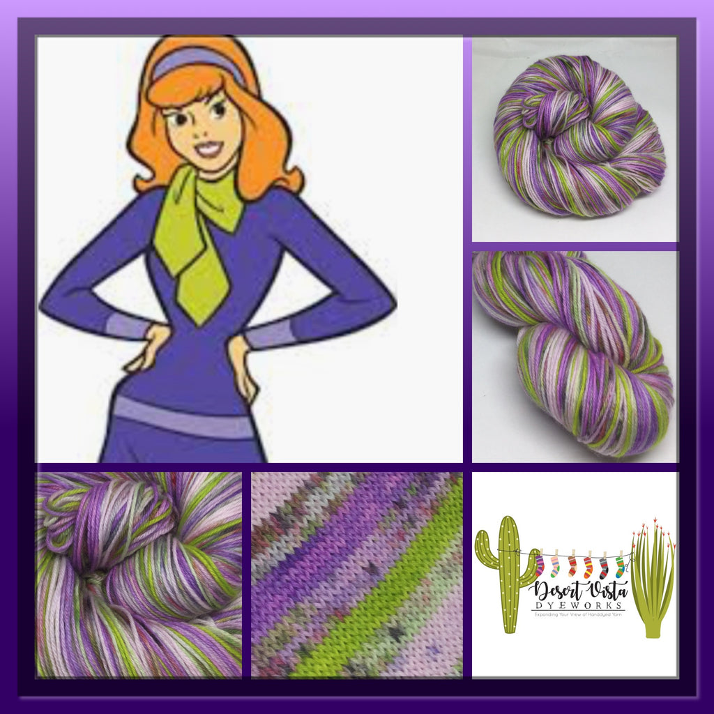Daphne Zombody Blake Six Stripe Self Striping Yarn