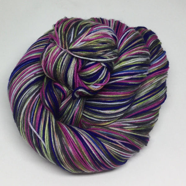 Alaska Thunder ZomBody Six Stripe Self Striping Yarn