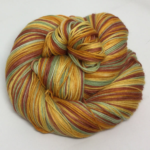 Van Gogh's Sunflowers Five Stripe Self Striping Yarn
