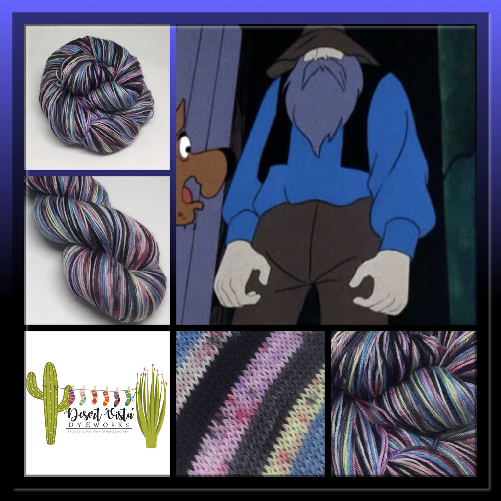 Miner Zombody 49er Six Stripe Self Striping Yarn