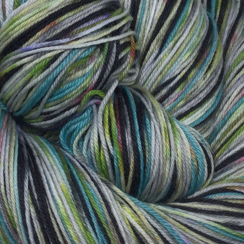 Halle ZomBody Loo Six Stripe Self Striping Yarn