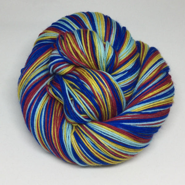 Community Transport Four Stripe Self Striping Sock Yarn