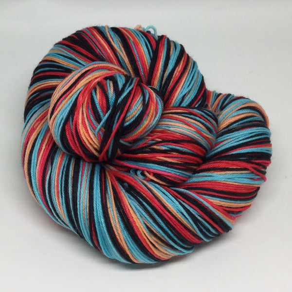 Jellyfish Four Stripe Self Striping Yarn