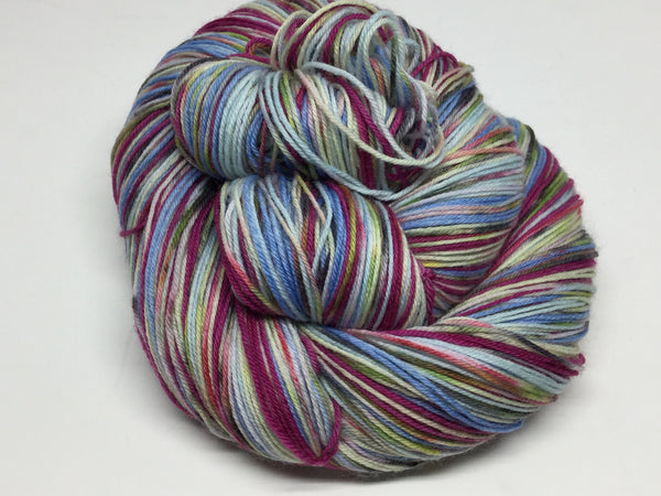 ZomBody Build a Snowman? Six Stripe Self Striping Yarn