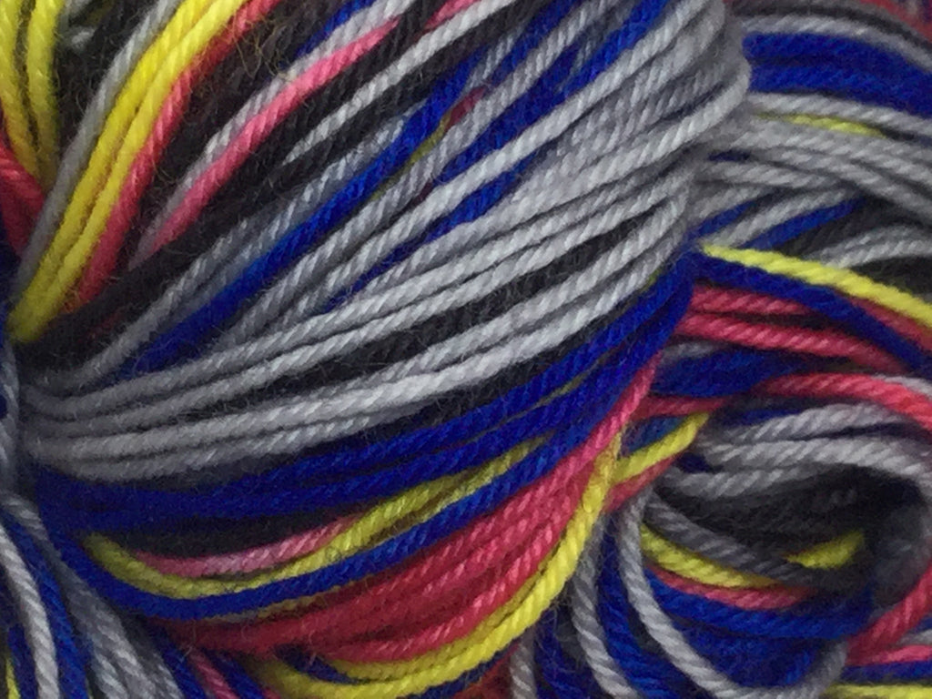 Les Mis Five Stripe Self Striping Yarn