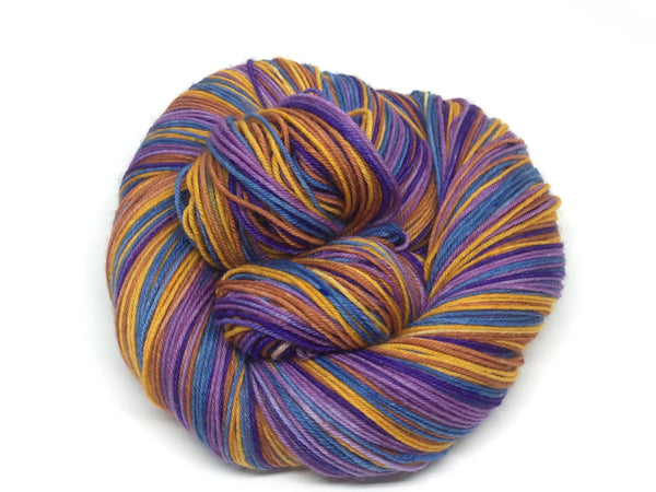 Skies Above You Five Stripe Self Striping Yarn