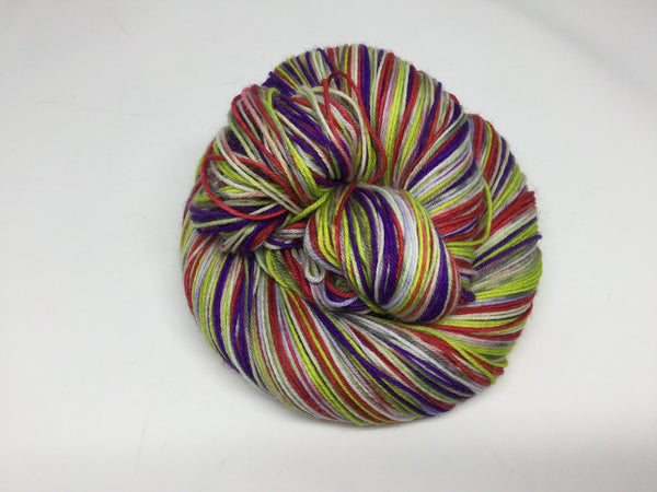 ZomBody Prom Six Stripe Self Striping Yarn