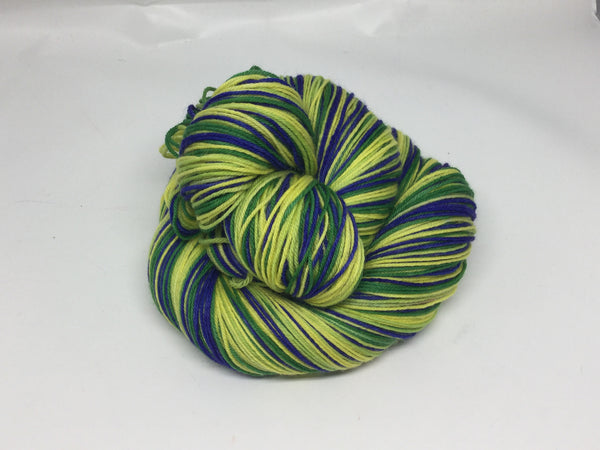 Jade Scorpion Four Stripe Self Striping Yarn