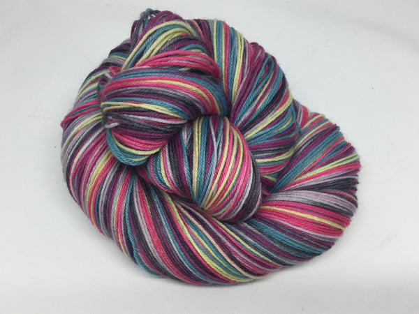 Asphalt Jungle Six Stripe Self Striping Yarn