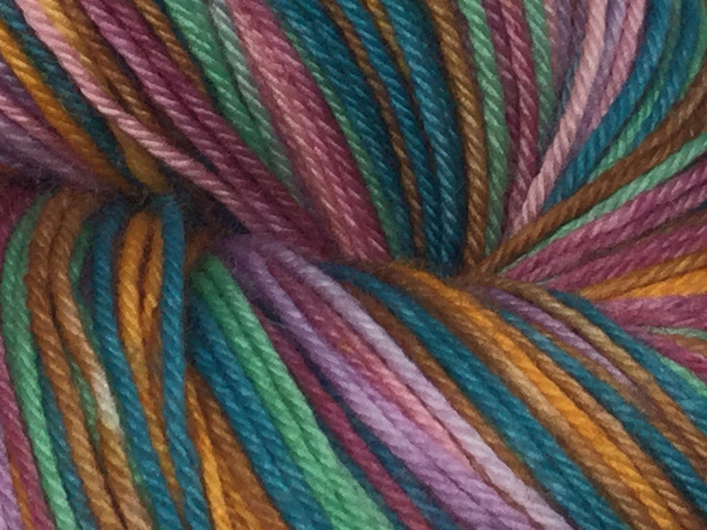 Archway Heart Seven Stripe Self Striping Yarn