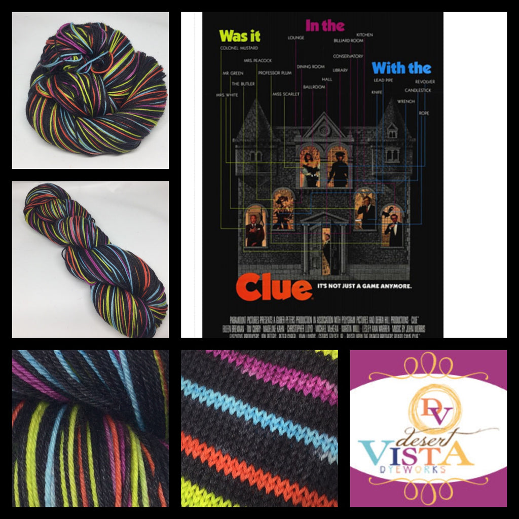 Clue Eight Stripe Self Striping Yarn