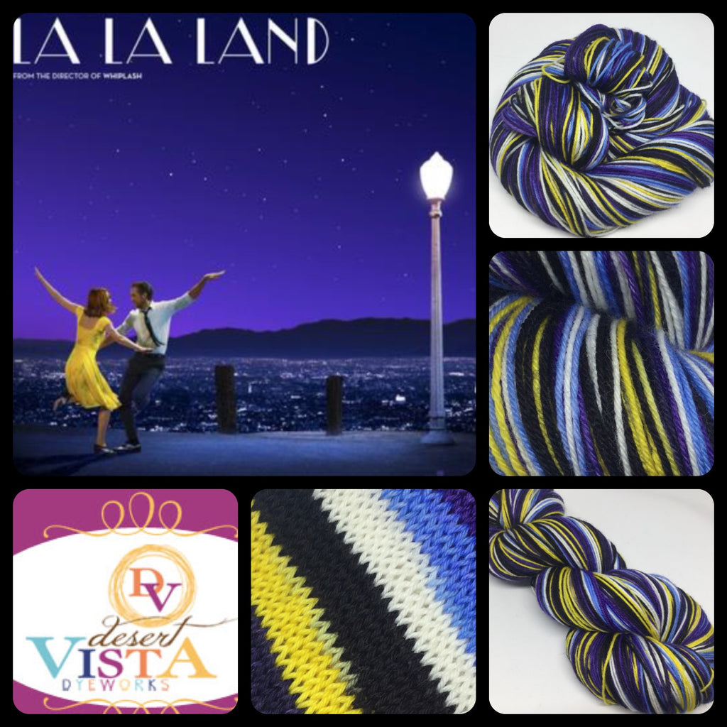 La La Land Six Stripe Self Striping Yarn