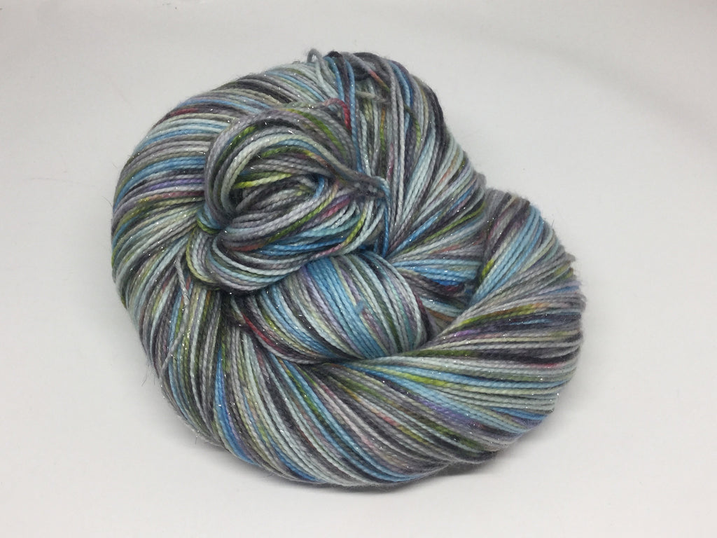 CinderZomBody Six Stripe Self Striping Yarn