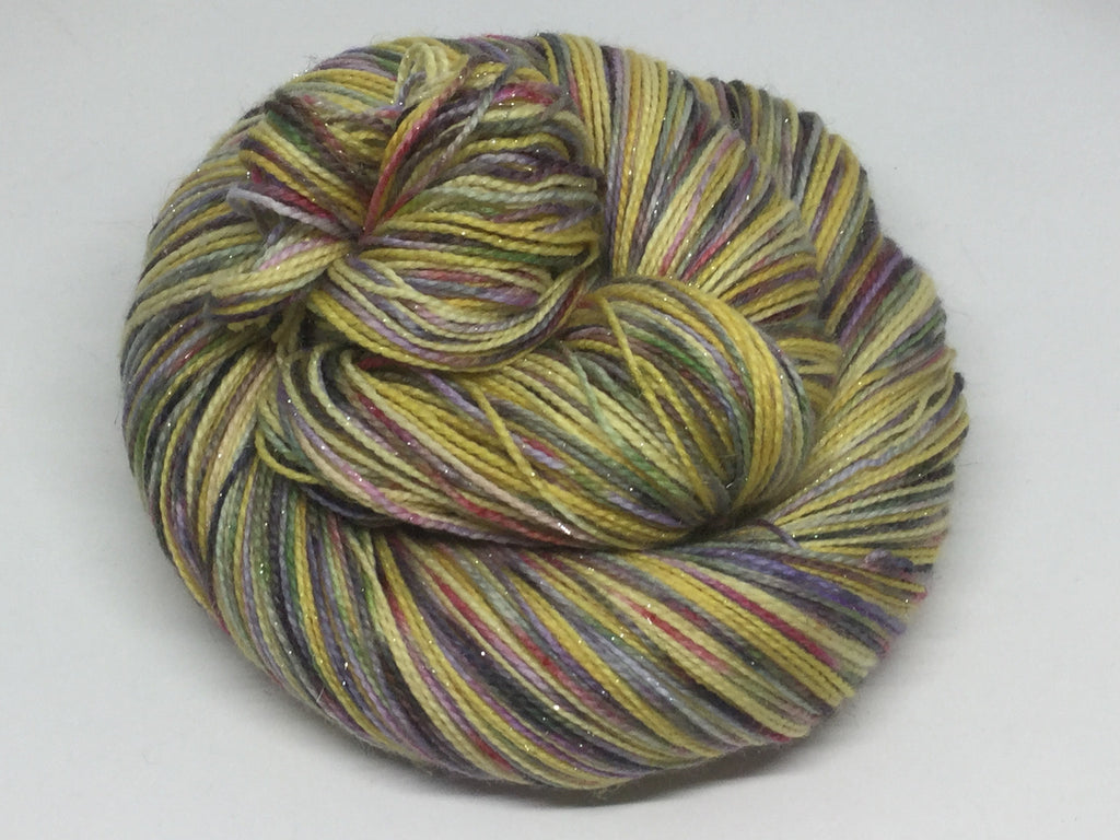 Beauty and The ZomBody Four Stripe Self Striping Yarn