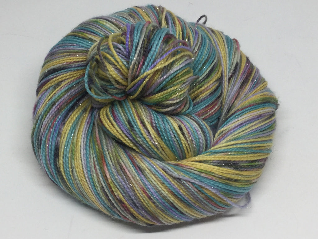 Whole New ZomBody World Four Stripe Self Striping Yarn