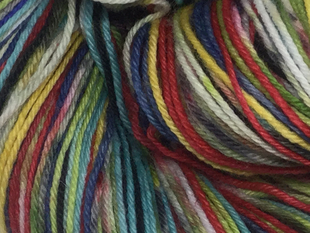 A ZomBody Worth Fighting For Eight Stripe Self Striping Yarn