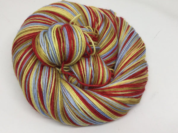 Fievel Four Stripe Self Striping Yarn