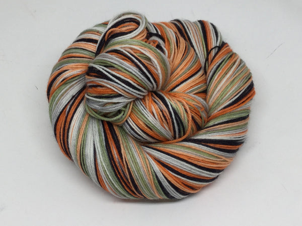 Giant Peach Six Stripe Self Striping Yarn