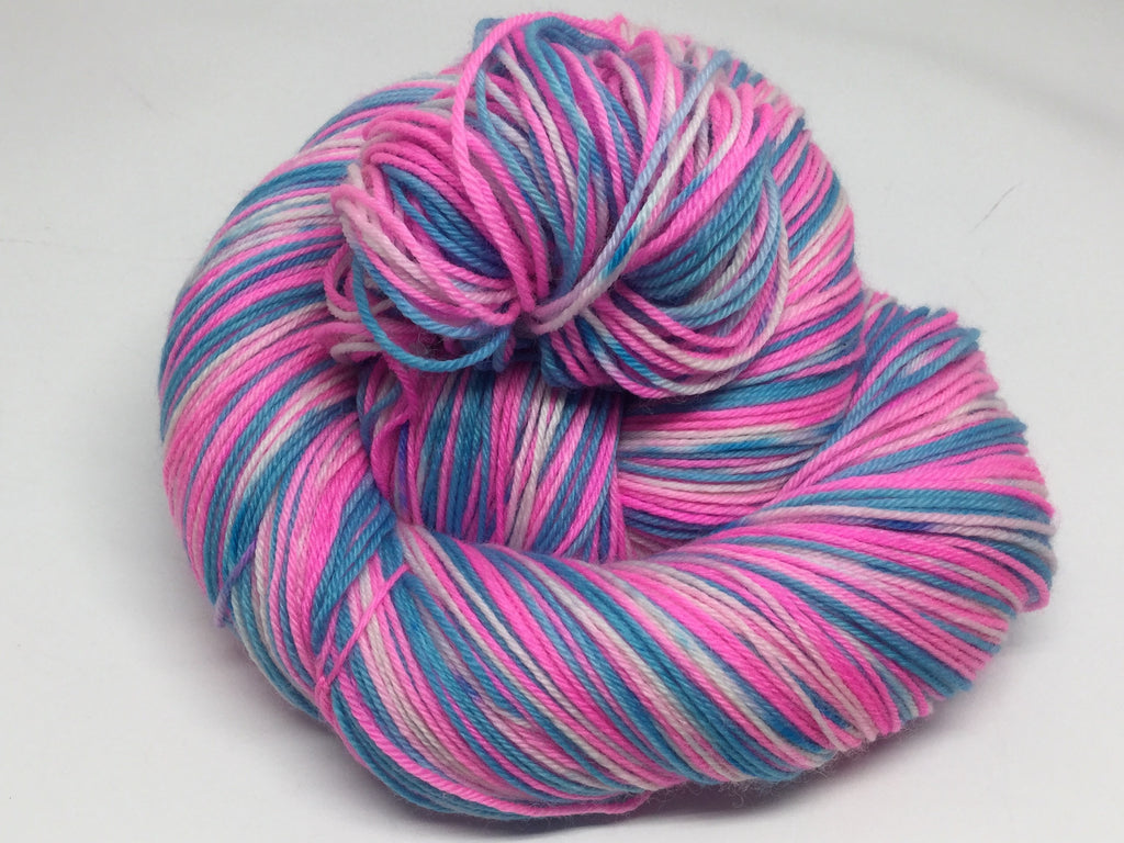 Crazy Unicorn Frap Four Stripe Self Striping Yarn