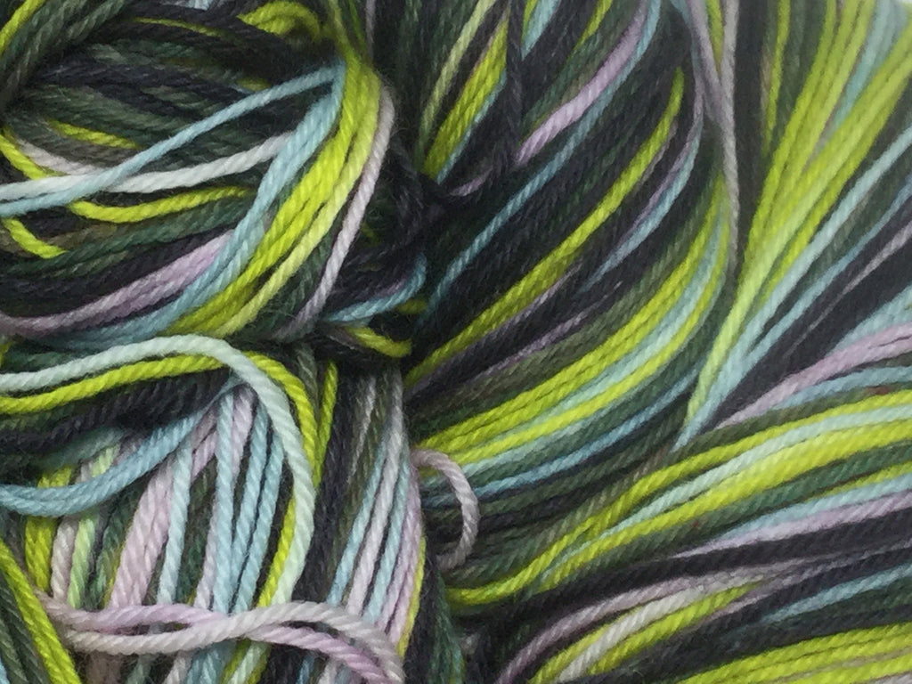 The Wasp Woman Five Stripe Self Striping Yarn