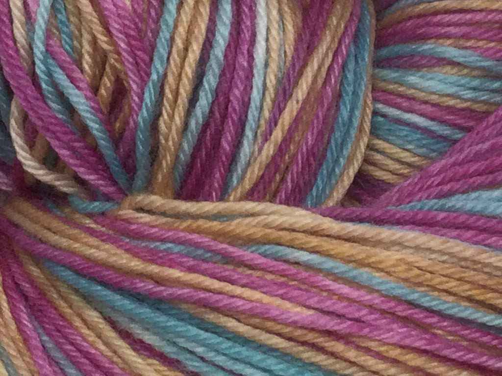 Dark Crystal Three Stripe Self Striping Yarn