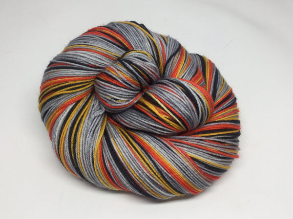 Downfall Four Stripe Self Striping Yarn