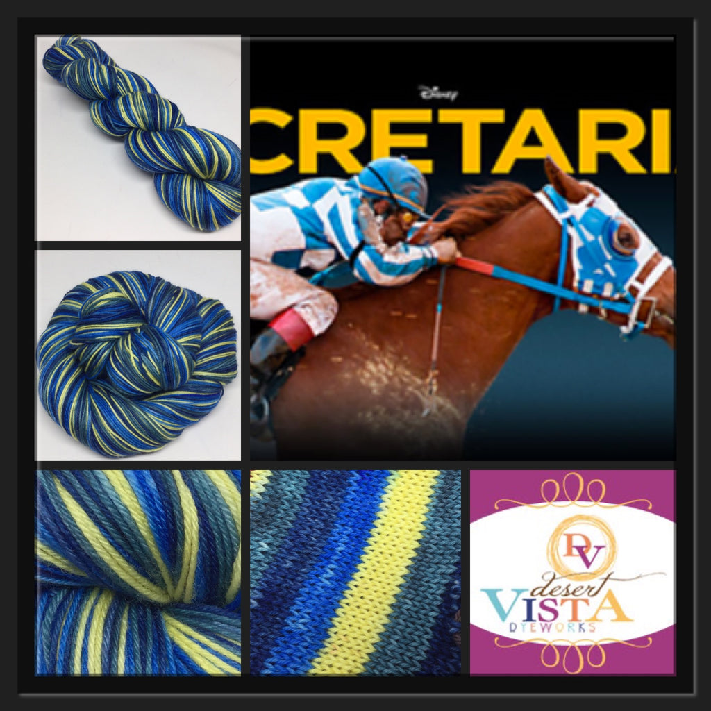 Secretariat Four Stripe Self Striping Yarn