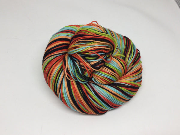 H. P. Lovecraft Five Stripe Self Striping Yarn