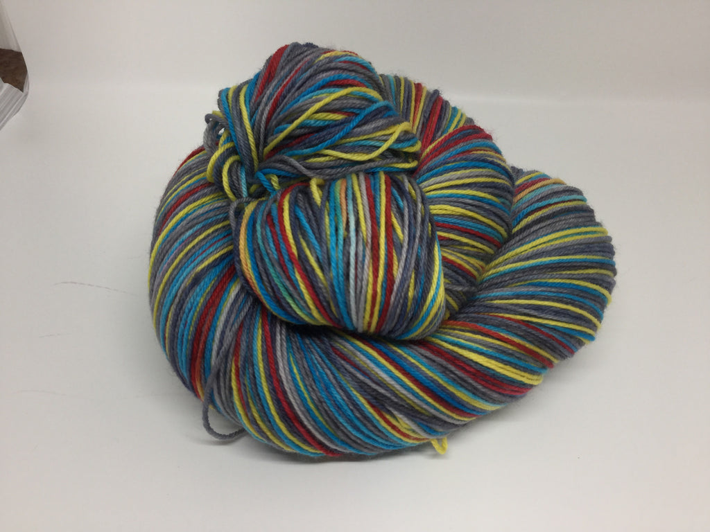 A Man Can Fly Four Stripe Self Striping Yarn