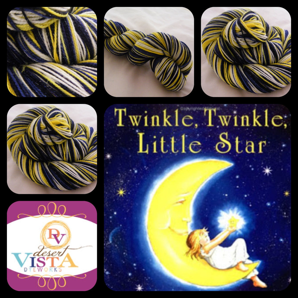 Twinkle, Twinkle Little Star Four Stripe Self Striping Yarn