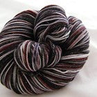 Color Accents - Raspberry Six Stripe Self Striping Yarn