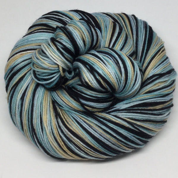 War and Peace Four Stripe Self Striping Yarn