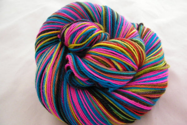Free to Be Six Stripe Self Striping Yarn