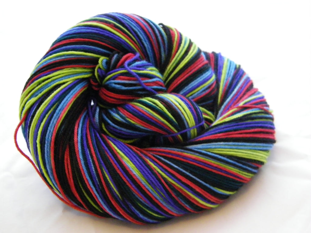 Cash & Clash Six Stripe Self Striping Yarn