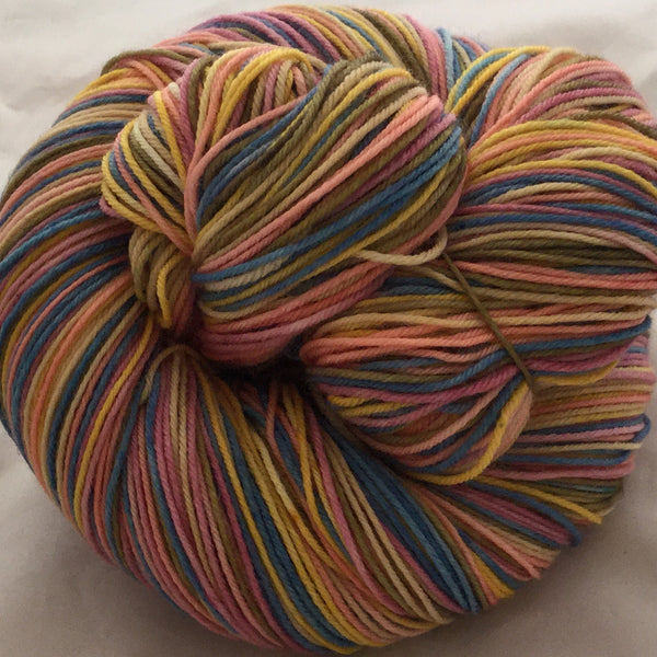 The Happiest Place on Earth Six Stripe Self Striping Yarn