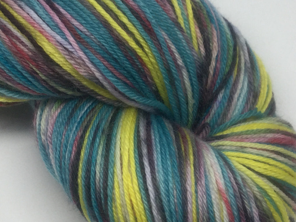 ZomBody is Like a Writing Desk Self Striping Yarn
