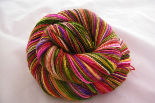 Cottage Garden Four Stripe Self Striping Yarn