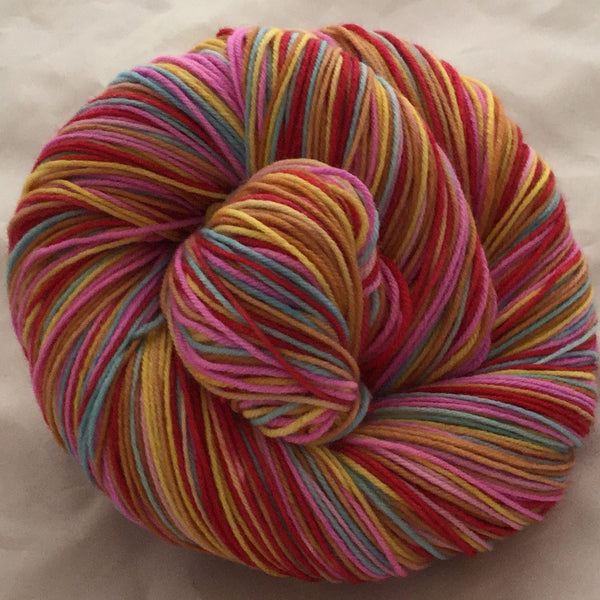 Troll Dolls Six Stripe Self Striping Yarn